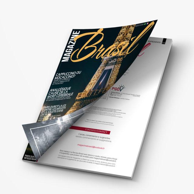Magazine Brasil – Piloto